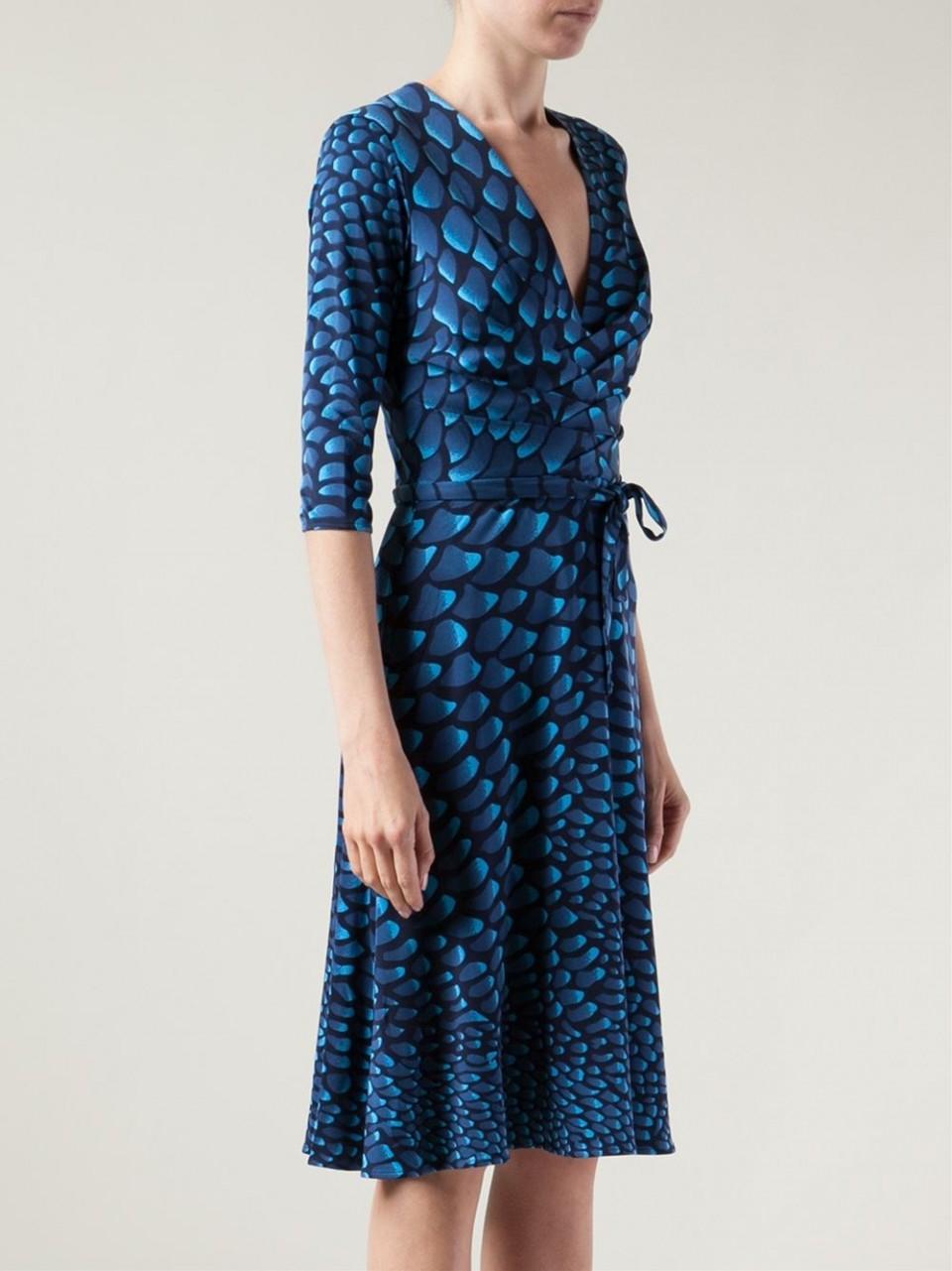 Issa Vneck Kate Middleton Dress In Navy Blue Lyst