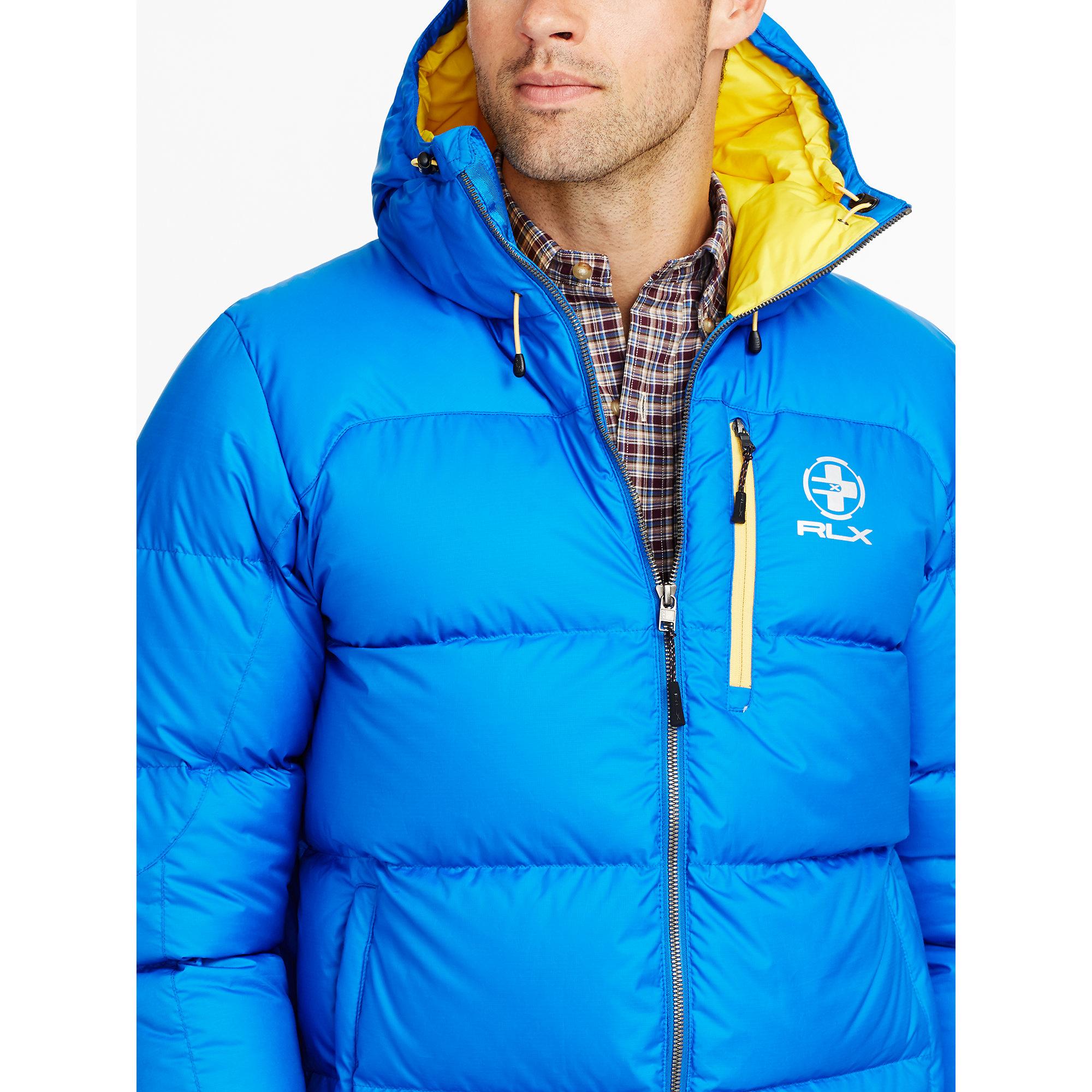 Ralph lauren Water-resistant Down Jacket in Blue for Men   Lyst