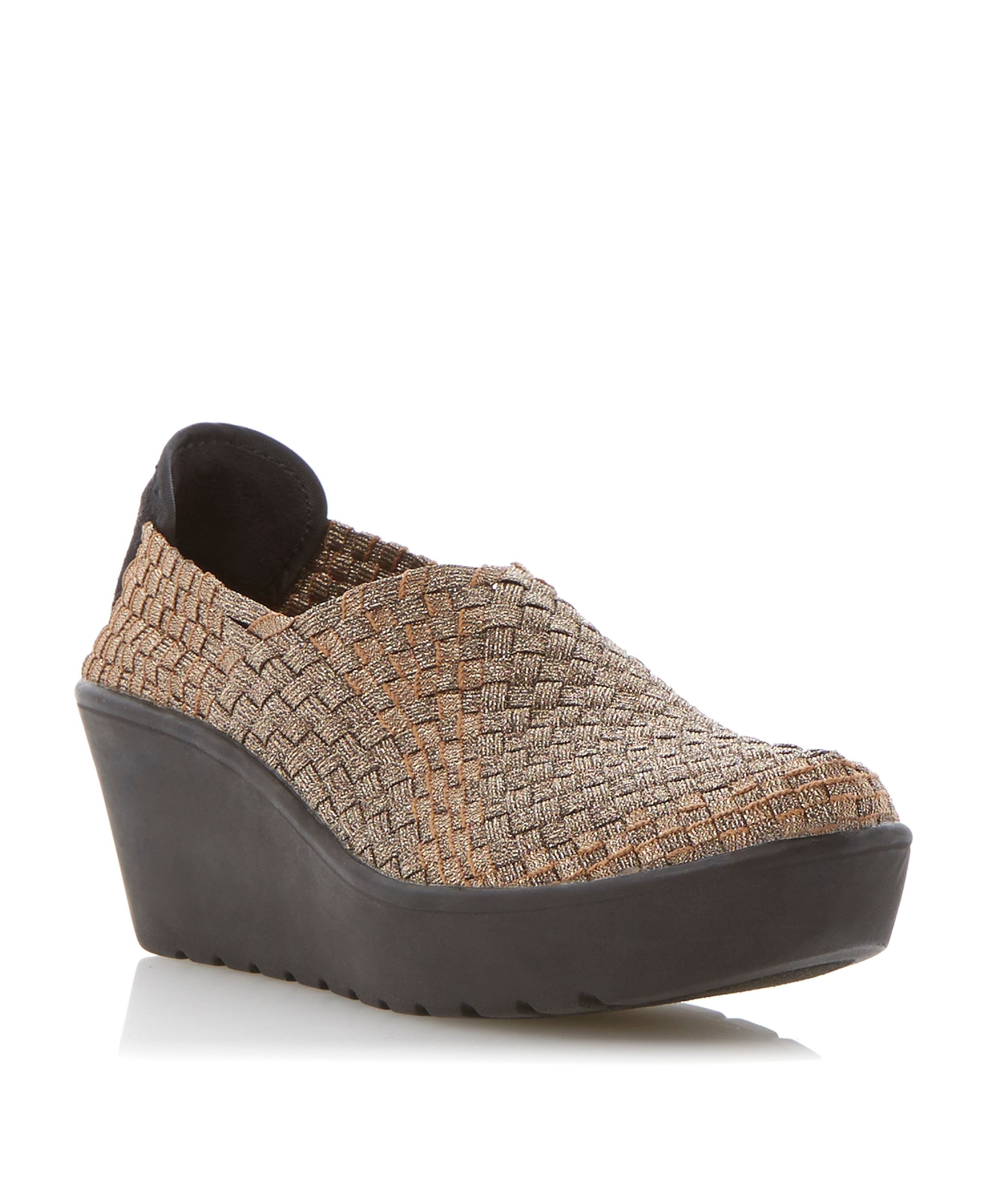 dbe2927d1d8 Steve madden betsi sm woven elastic shoes.pumps. Upper - synthetic .