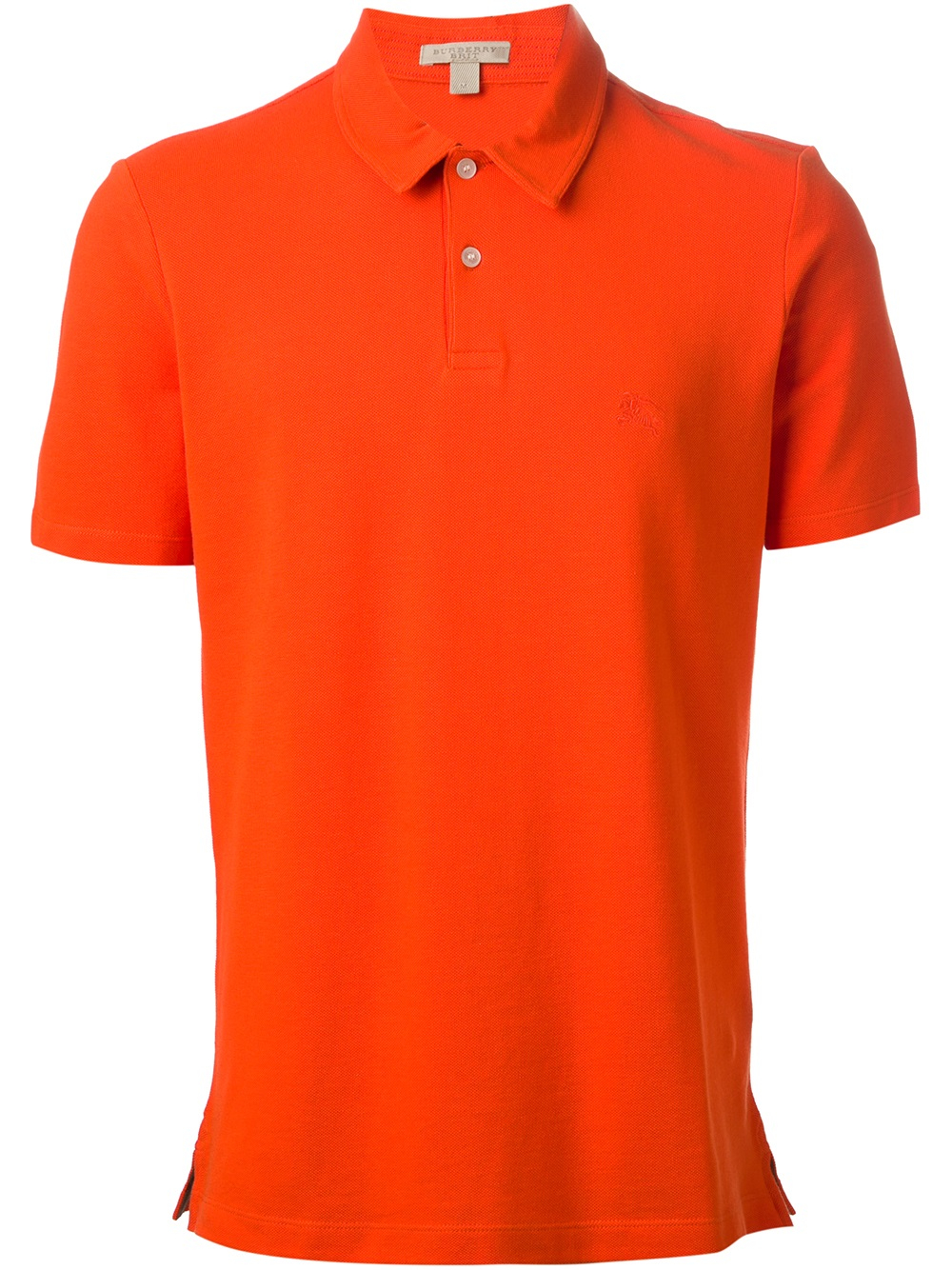 burberry brit cosway polo shirt in orange for men lyst