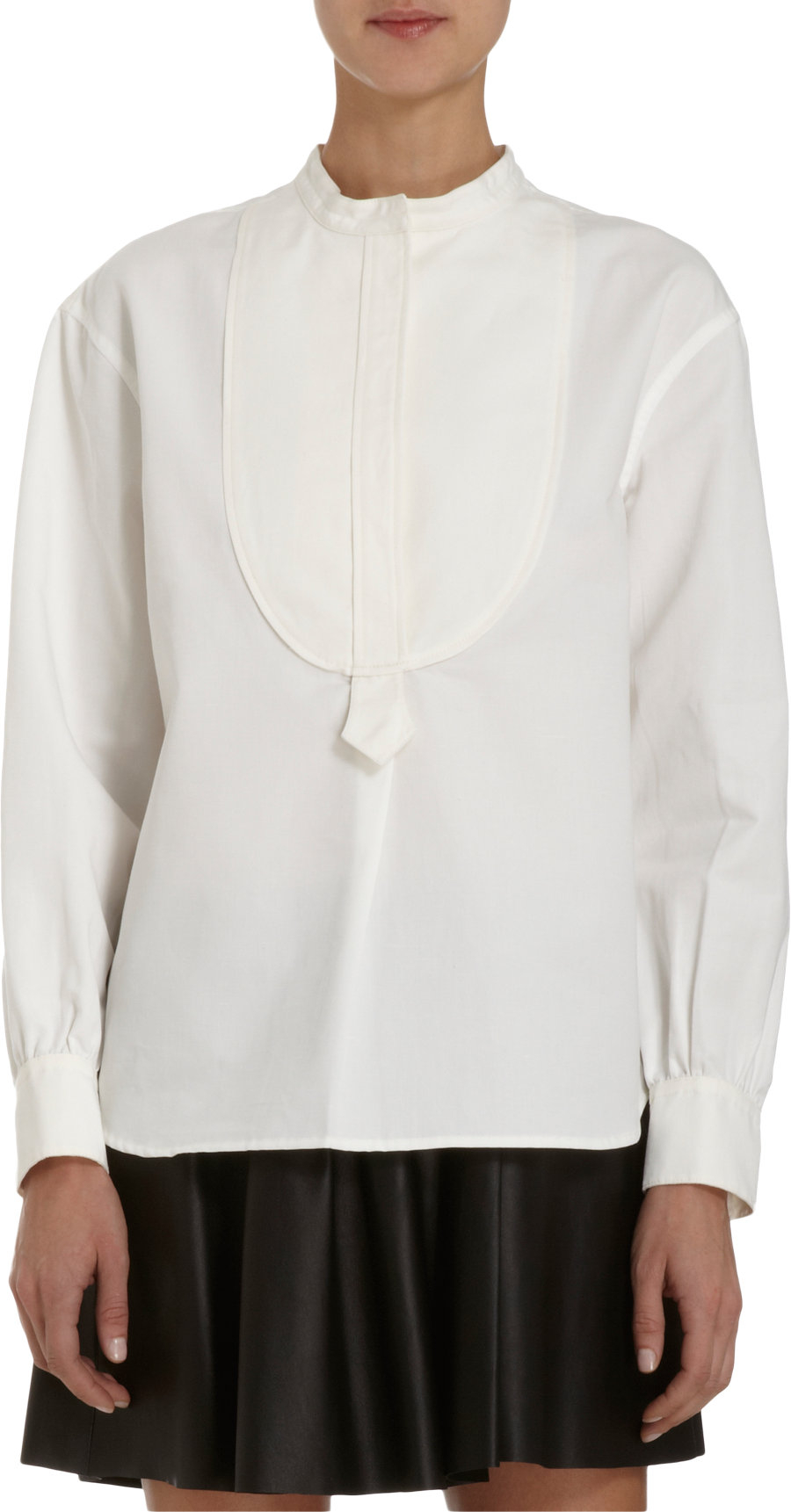 Womens Cordage Cotton Poplin Blouse Atlantique Ascoli Free Shipping With Credit Card Visa Payment For Sale YphMWlfJD