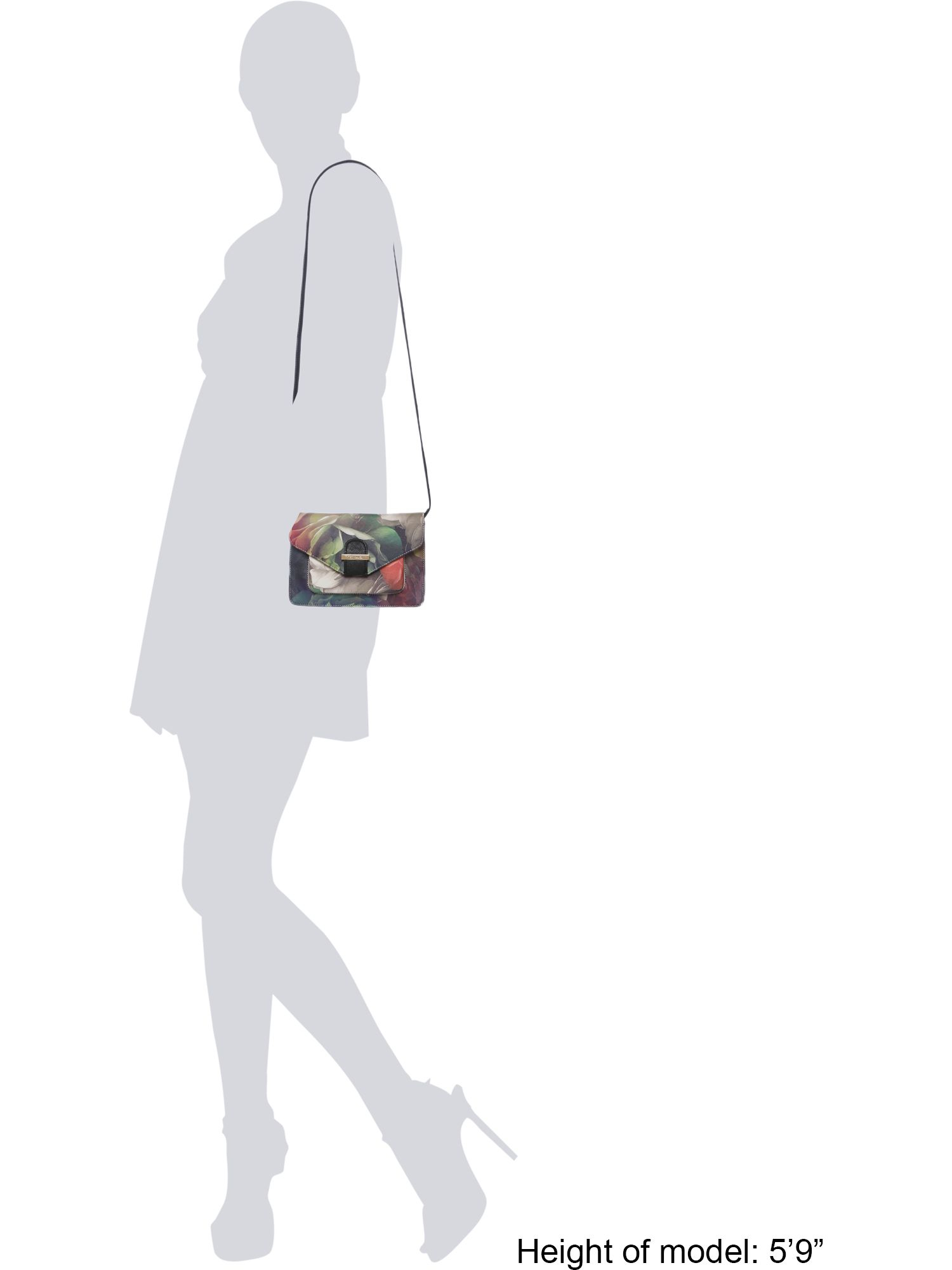 Ted Baker Tammia Multi-coloured Floral Cross Body Bag