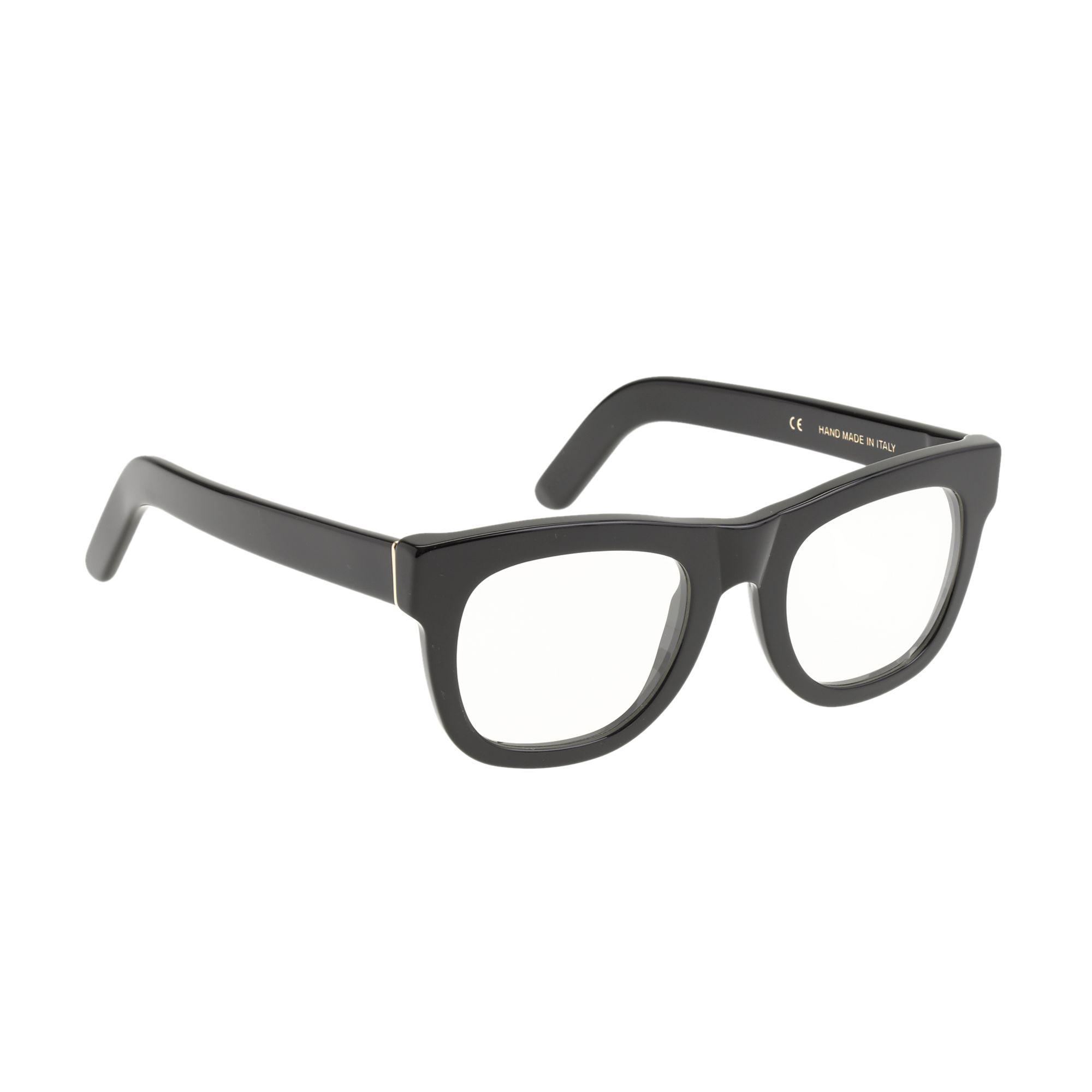 j crew ciccio eyeglasses in black true black lyst