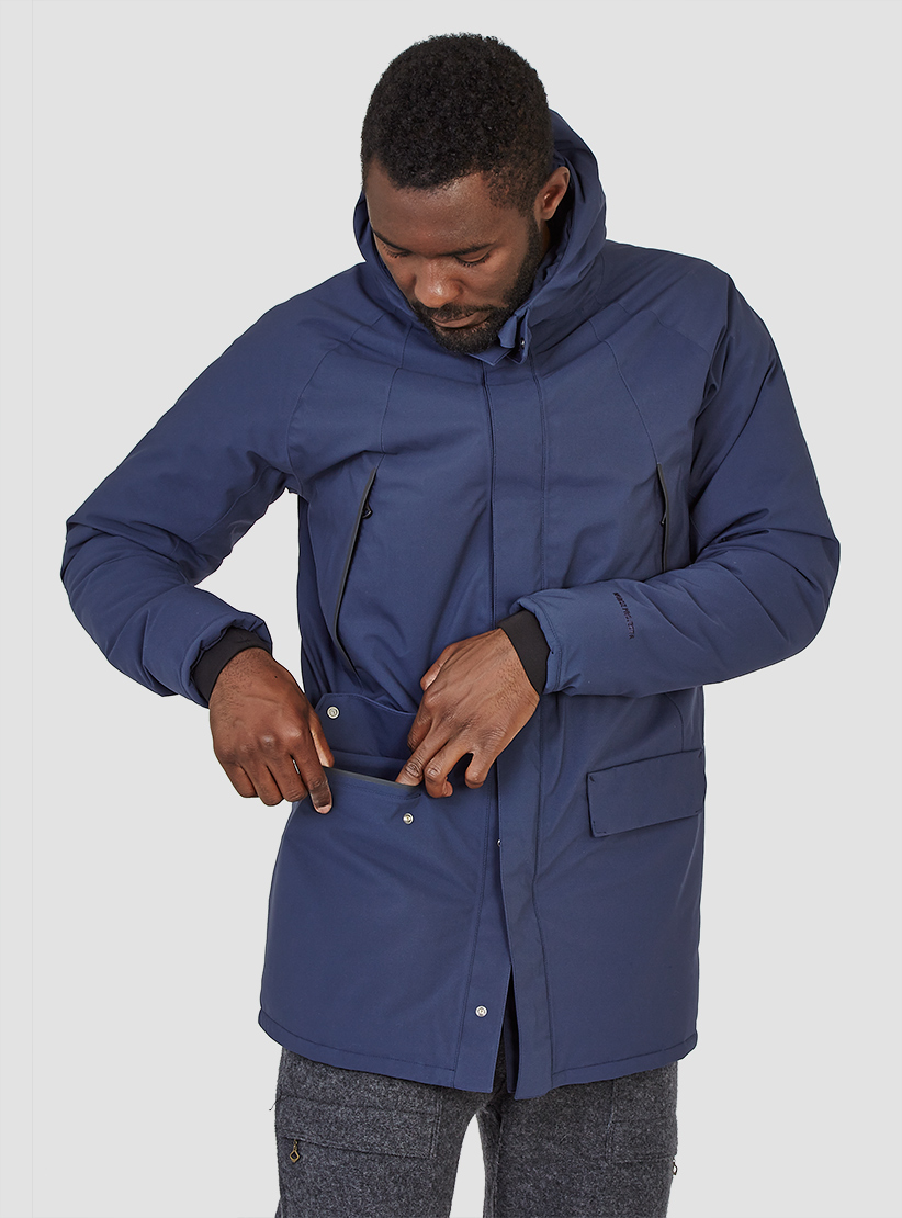 Norse projects Rokkvi 2.0 Jacket Navy in Blue for Men