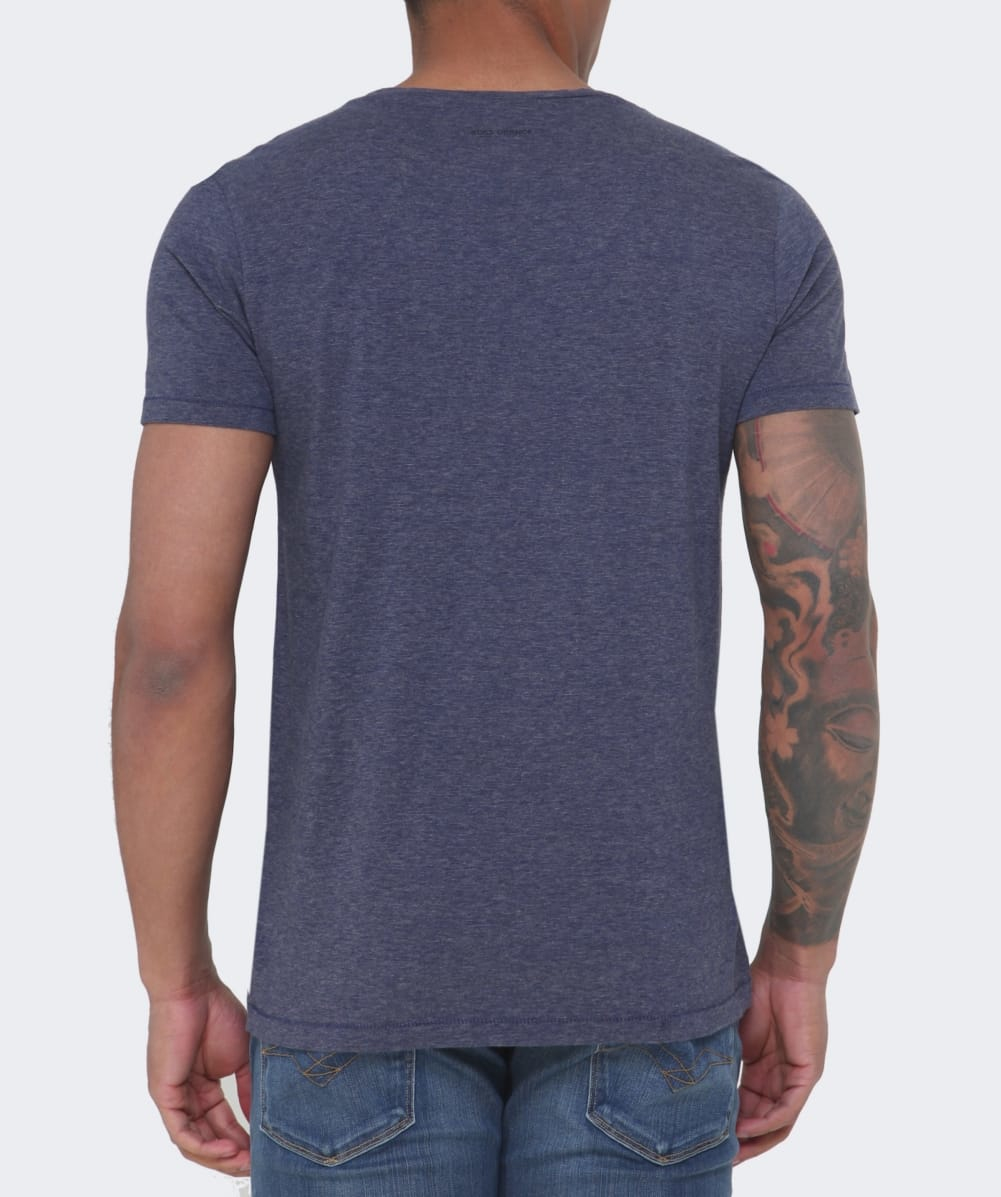 lyst boss orange telson 1 t shirt in blue for men. Black Bedroom Furniture Sets. Home Design Ideas