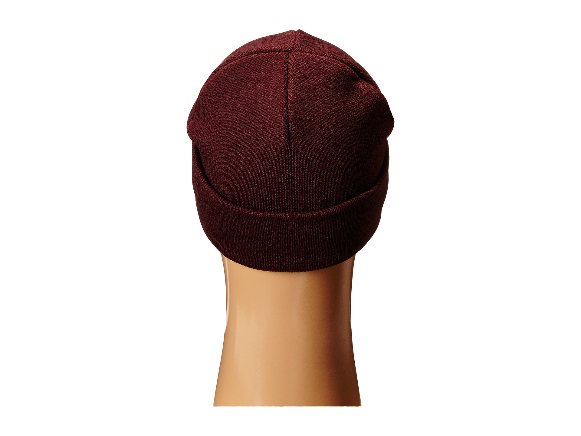 d0631081a2a Lyst - Huf Triangle Pin Service Beanie in Red for Men