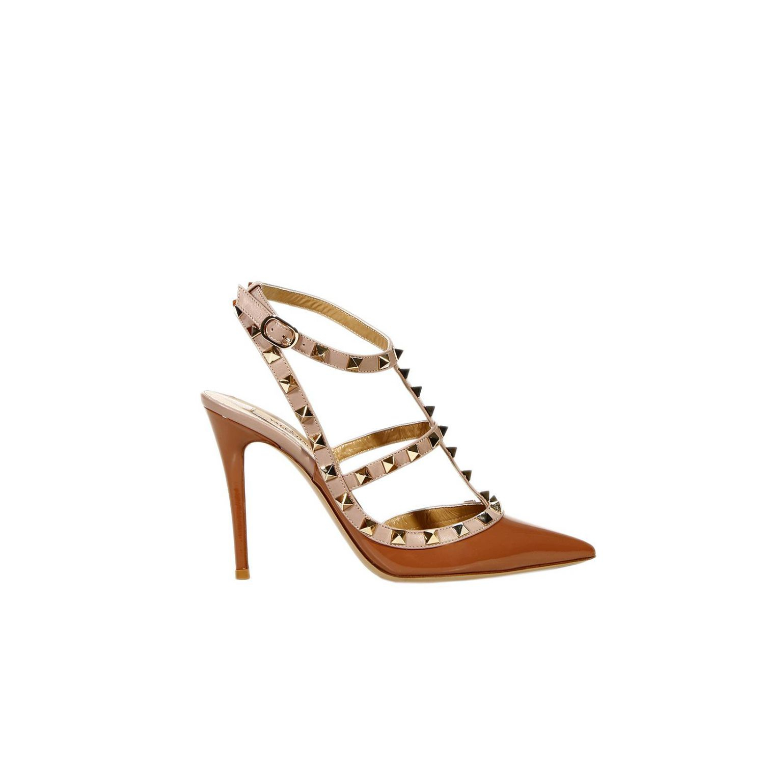 Valentino Shoes Heel 10 Rockstud Patent with Studs in ...