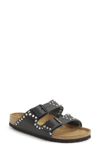 Birkenstock 'Arizona' Studded Leather