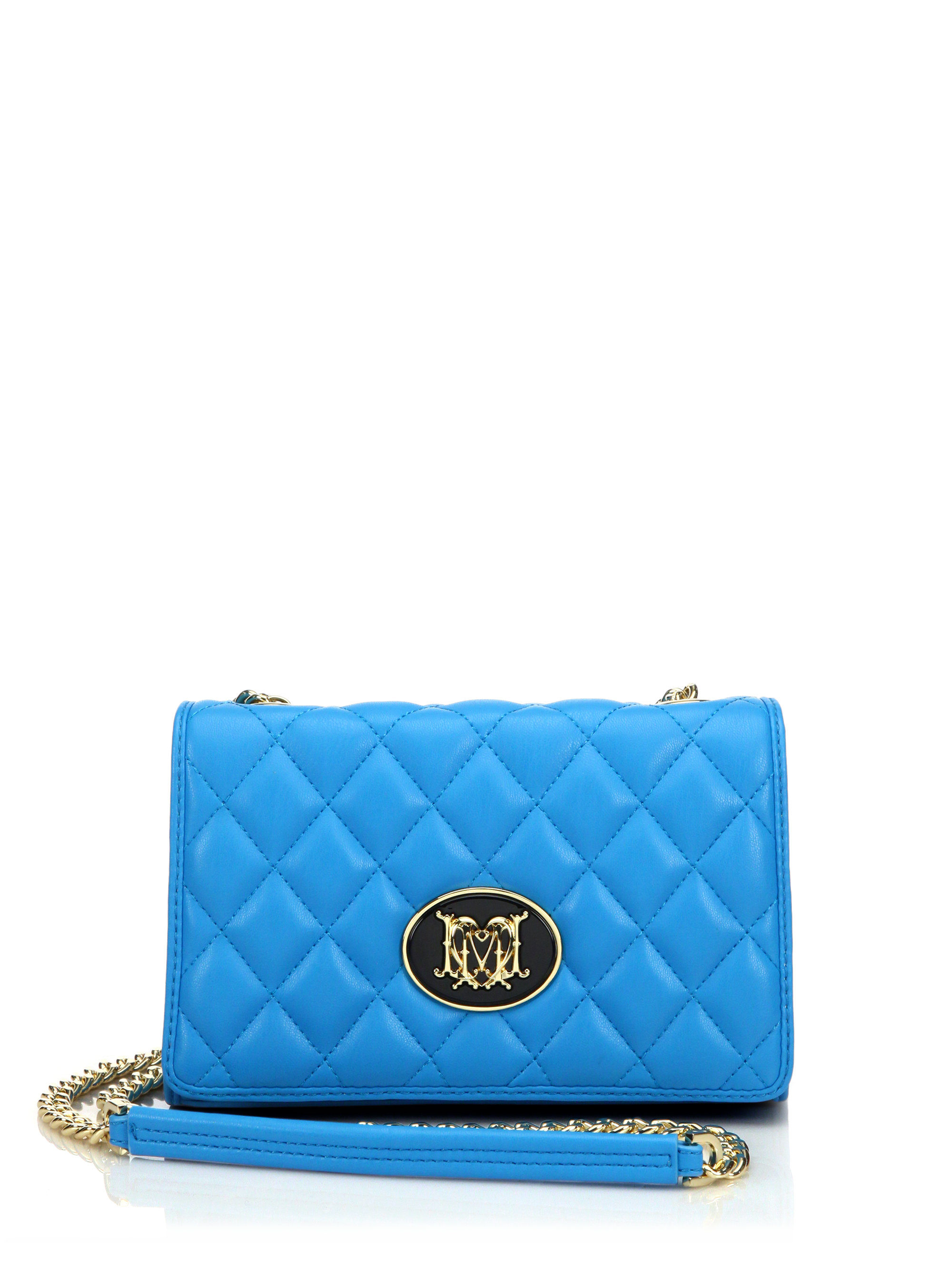 Cheap Pre Order studded crossbody bag - Blue Love Moschino Cheap Sale In China Discount 100% Authentic Wide Range Of Online 8jGX3s