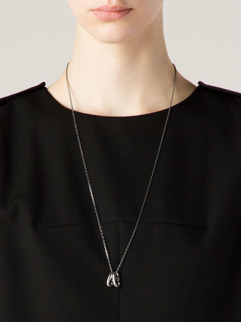 f1f6fde05e5b6 Lyst - Miansai  brummel  Pendant Necklace in Metallic
