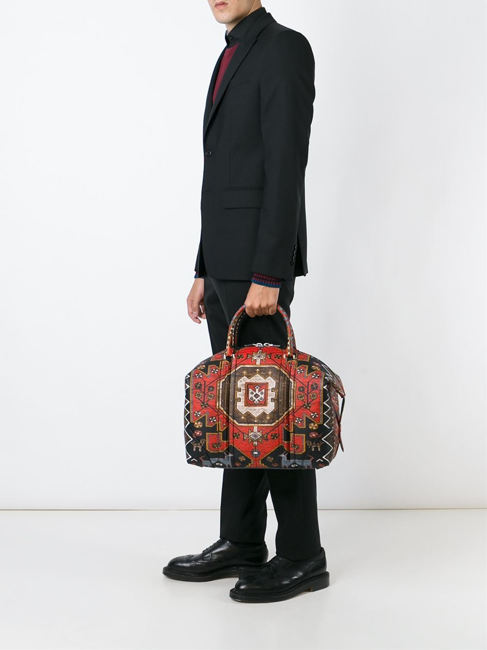 Givenchy Medium 'lucrezia' Tote in Red for Men