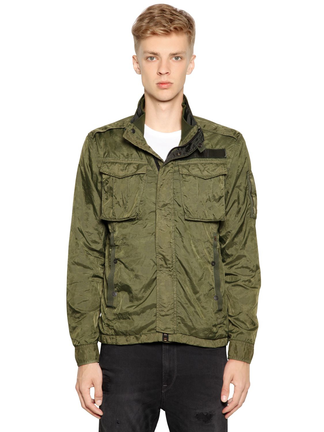 Nylon Field Jacket 83