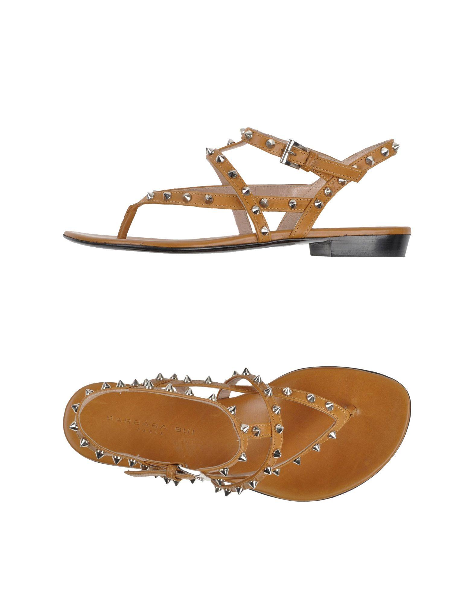 2783b74fc Lyst - Barbara Bui Thong Sandal in Brown