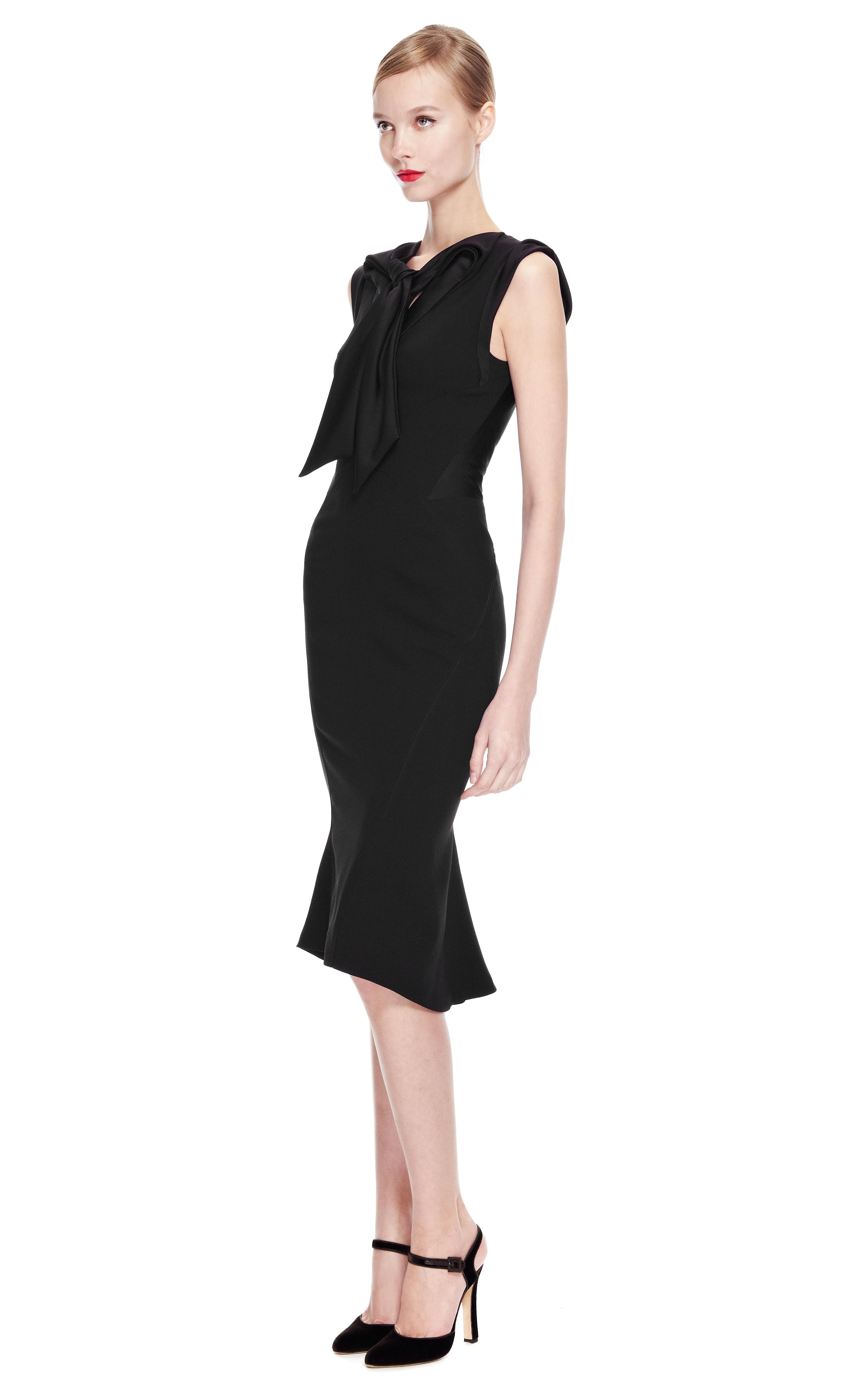 Zac Posen Sleeveless Midi Dress Pay With Paypal ZD2e9zIFQM