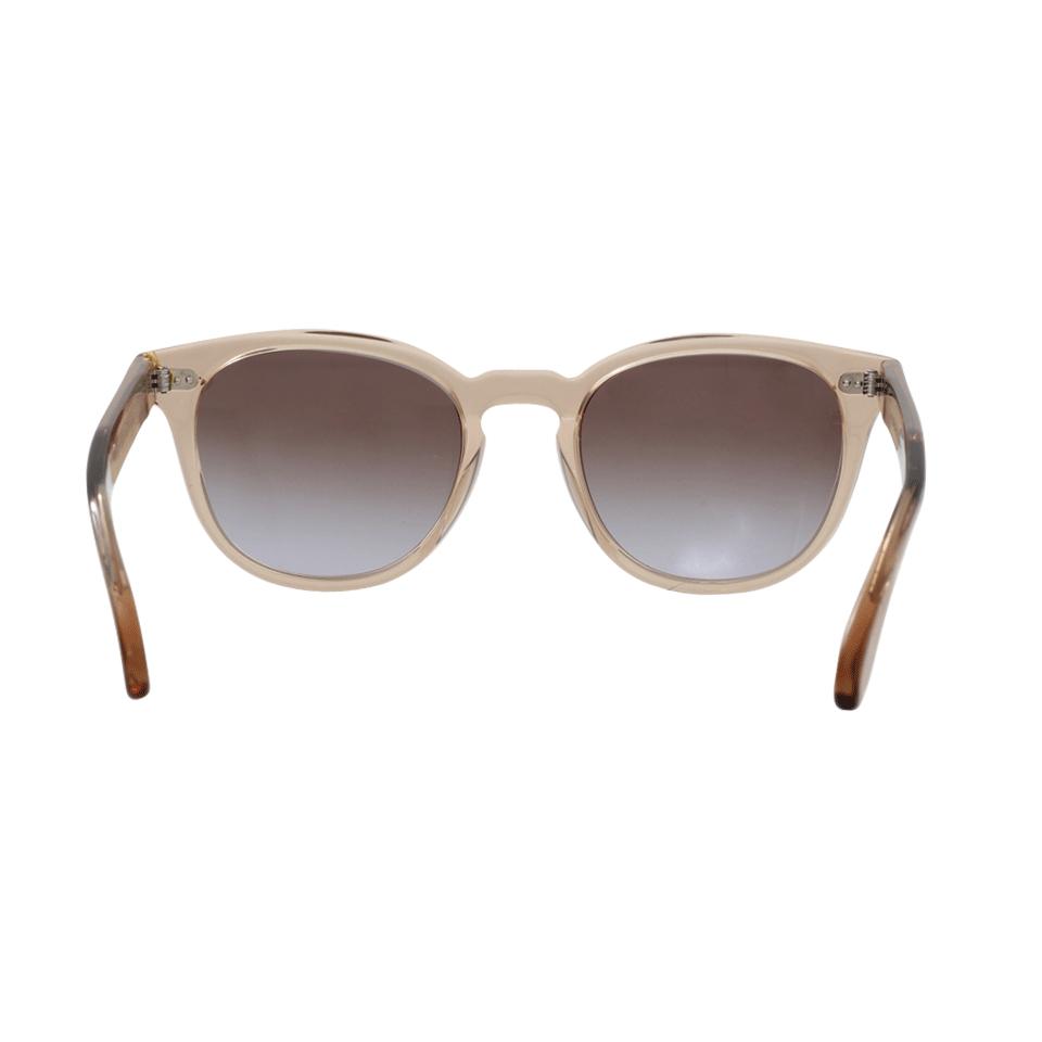 Oliver Peoples Sheldrake Plus Sunglasses in Blush (Brown)