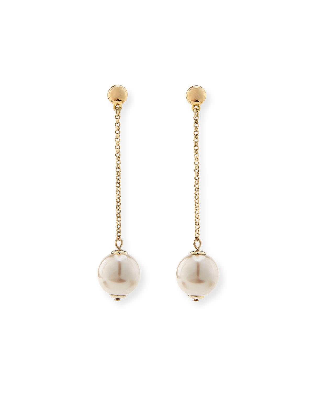 Lyst Lele Sadoughi Sands Of Time Pendulum Pearly Drop