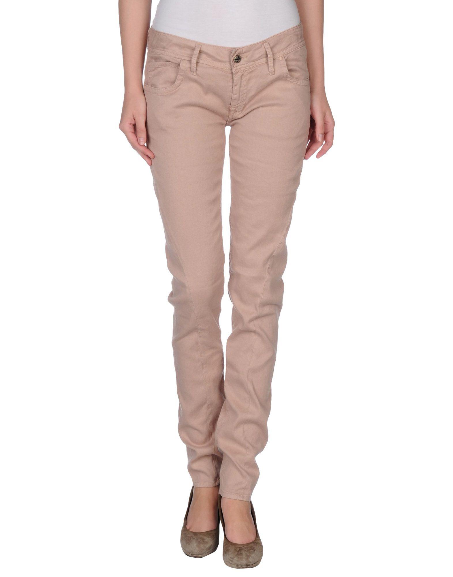 Cycle Denim Pants in Beige (Skin color) - Save 85% | Lyst