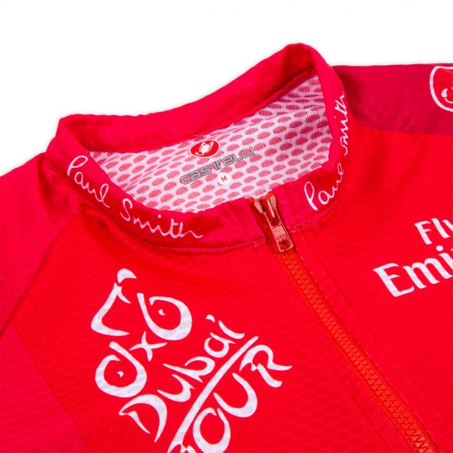 Paul Smith Red Dubai Tour Cycling Jersey for Men