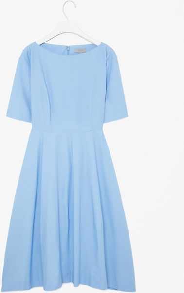 Galerry flared cotton dress