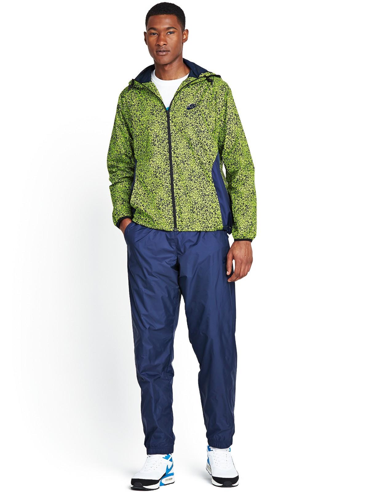 Nike Mens Hybrid Tracksuit In Blue For Men Navy Multi Lyst