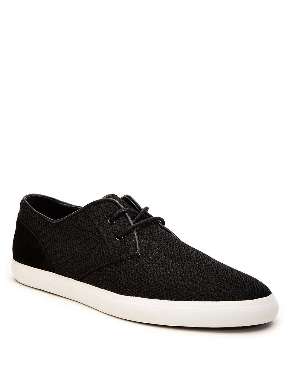 calvin klein parker mesh sneaker in black for men lyst. Black Bedroom Furniture Sets. Home Design Ideas