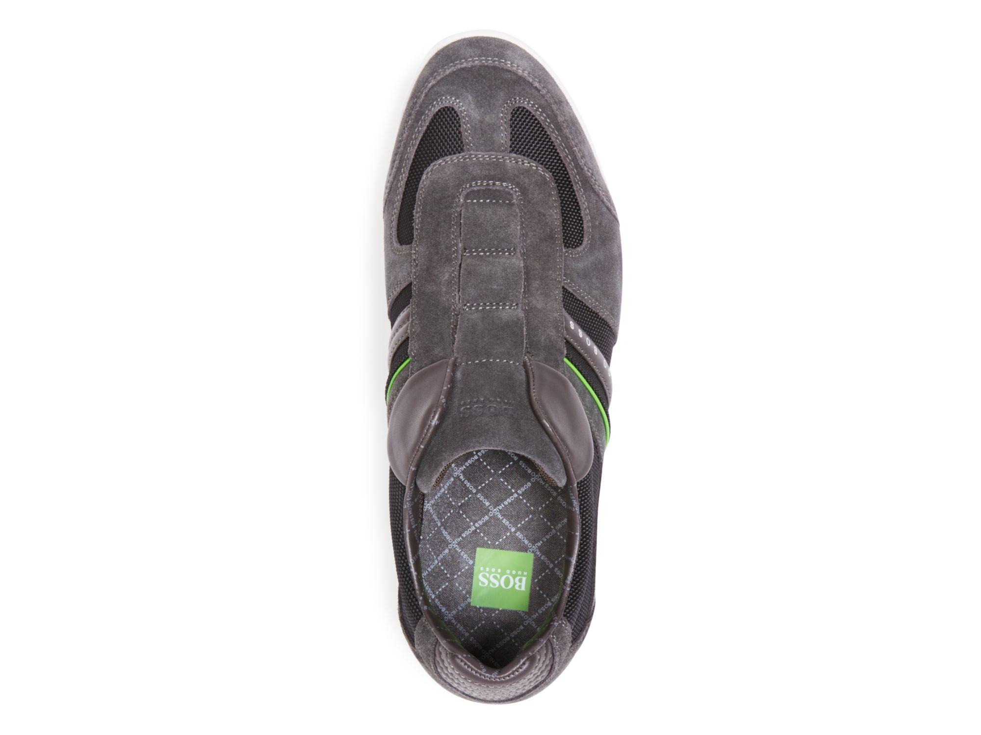 Boss Green Akeen Laceless Sneakers