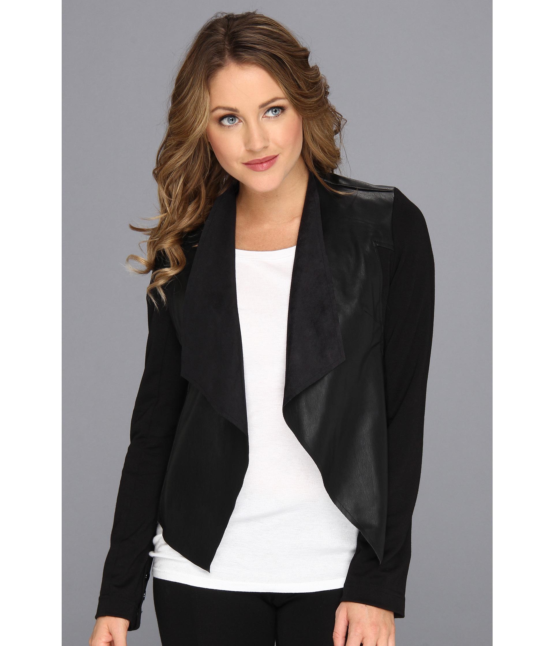 g jacket zip page faux gili front leather i qvc peplum drapes l drape product com