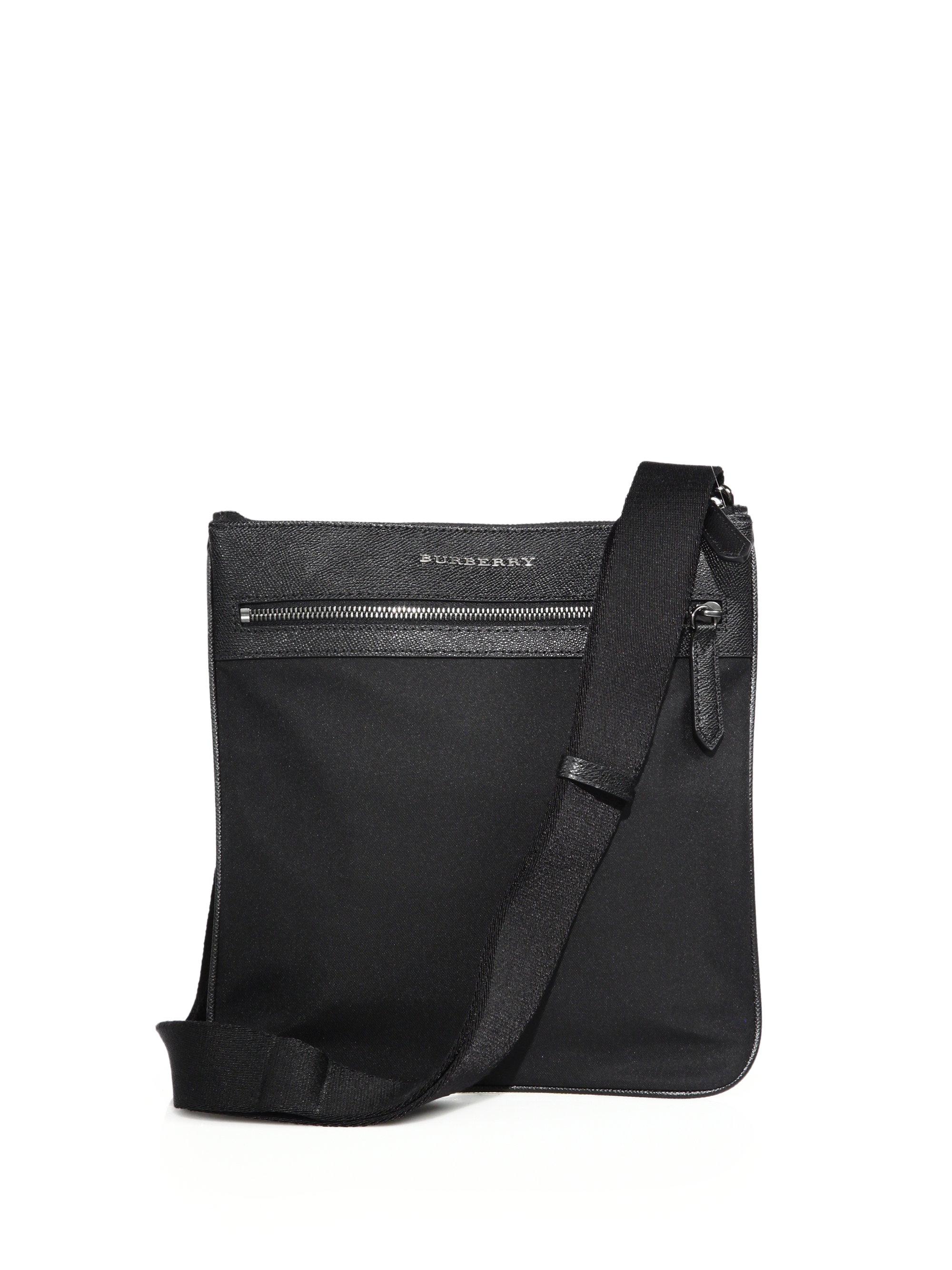 37cb65c5f57e Lyst - Burberry Crossbody Bag in Black for Men
