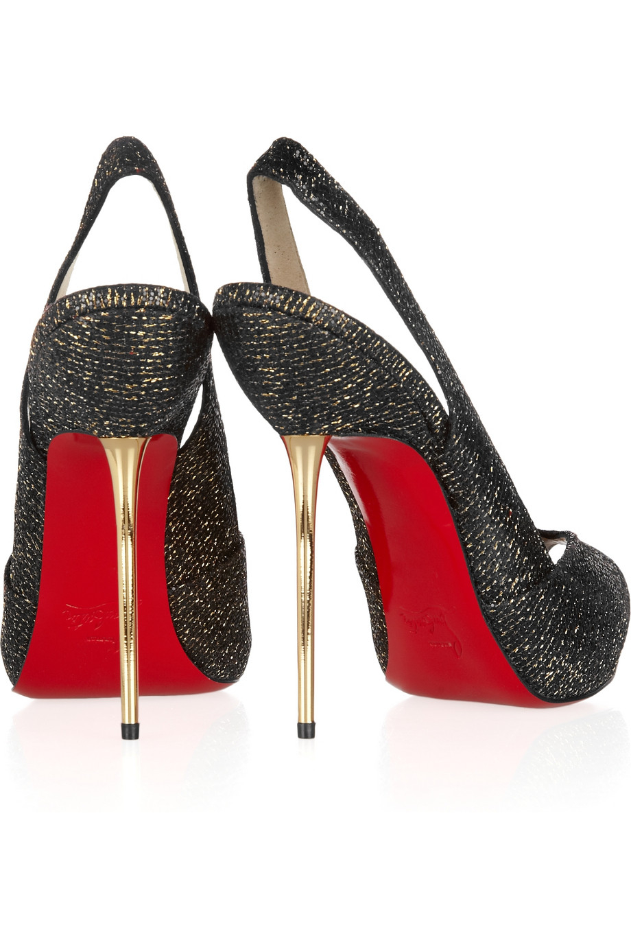 timeless design 0dc1e 7f514 Christian Louboutin Leather Galupump Laser-cut Red Sole Pump ...