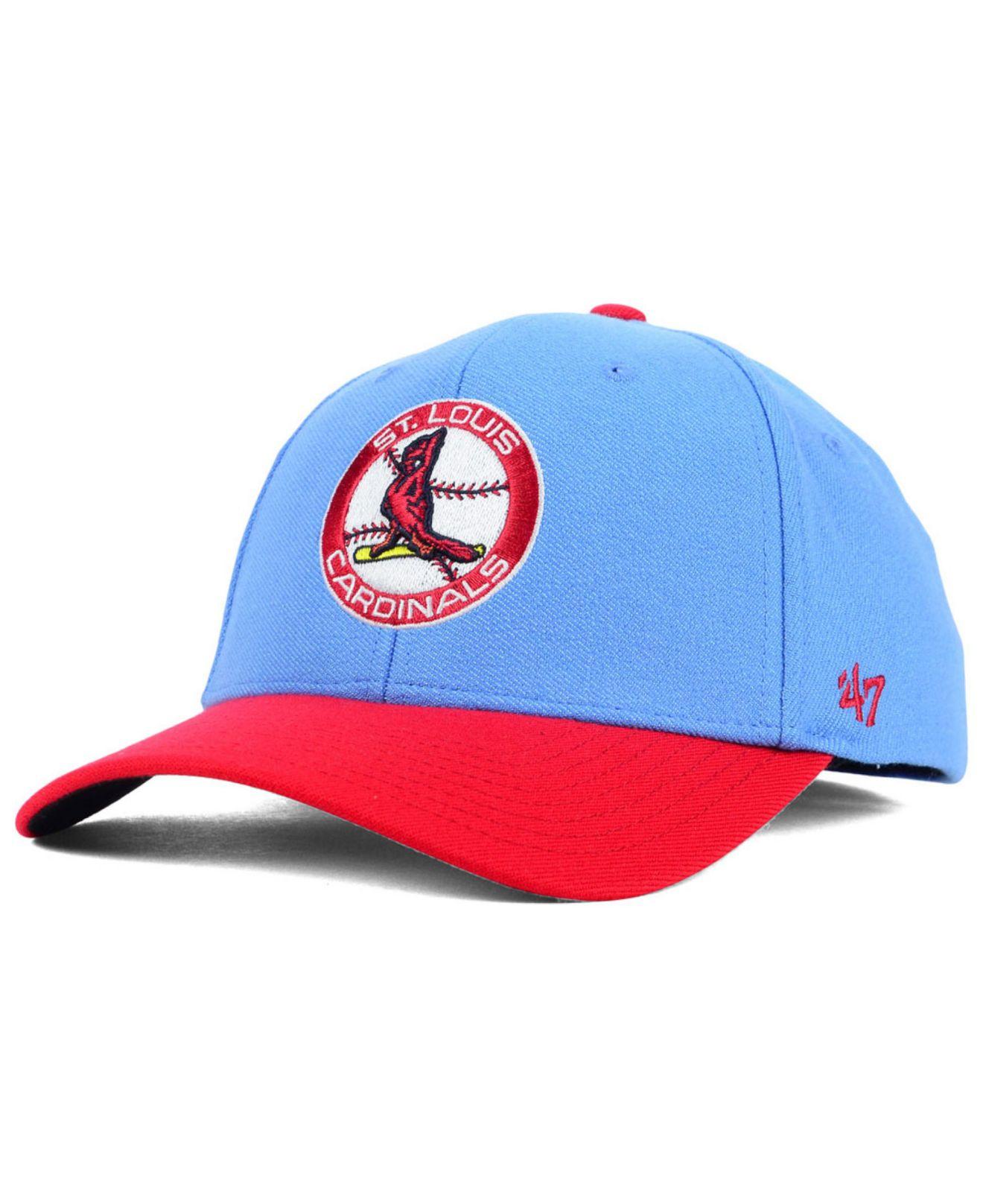 47 Brand St Louis Cardinals Contender Cap In Blue For Men