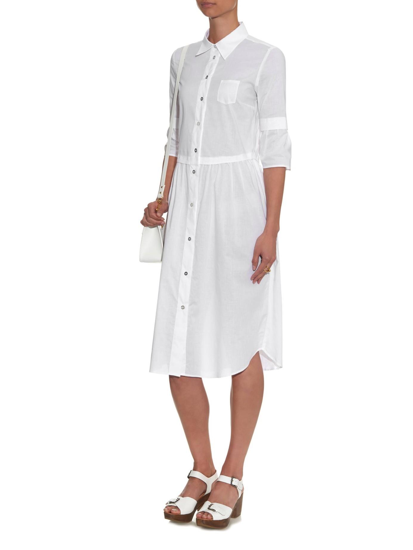 midi shirt dress - White Maison Martin Margiela i9h1I6