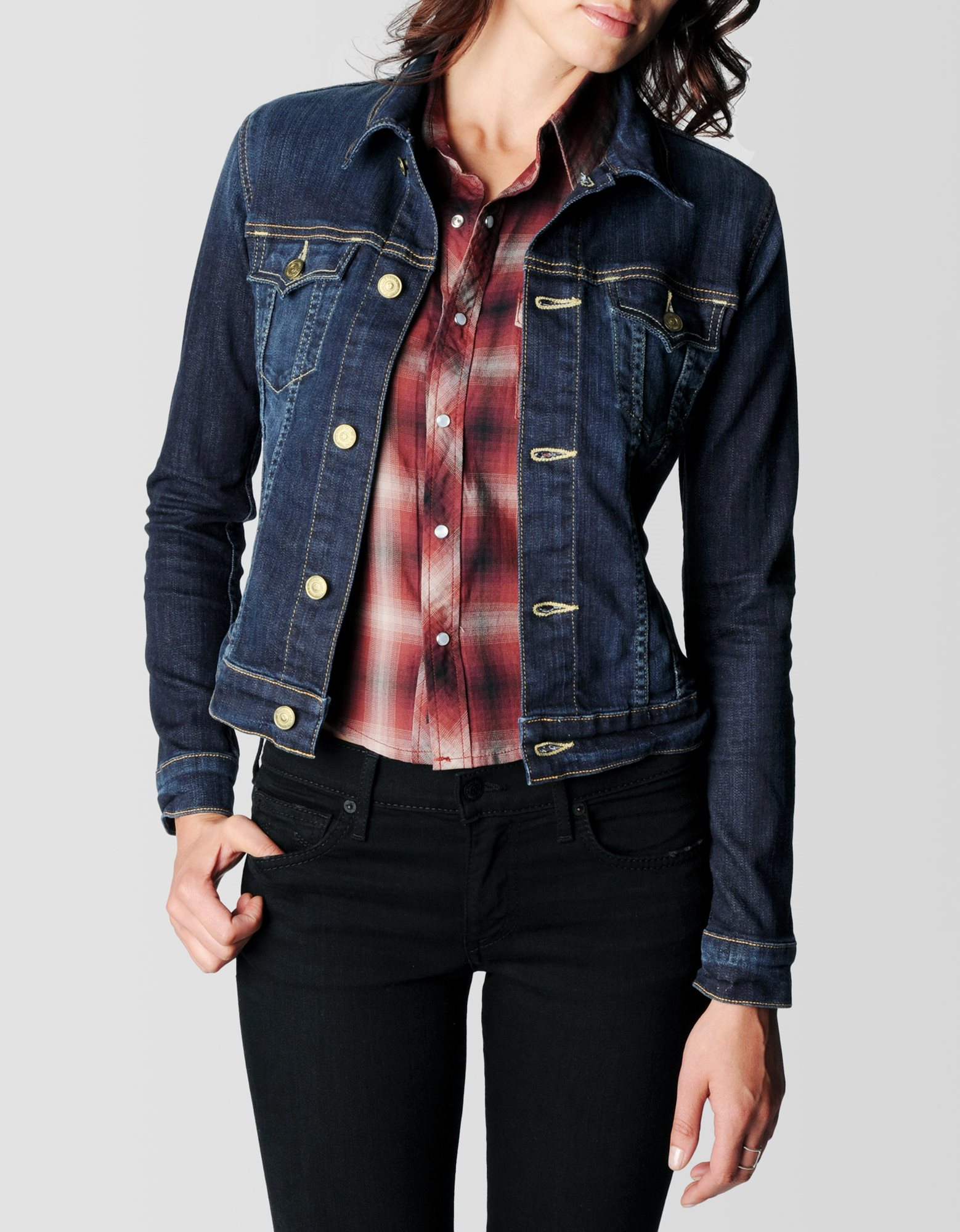 True Religion Jean Jacket Womens