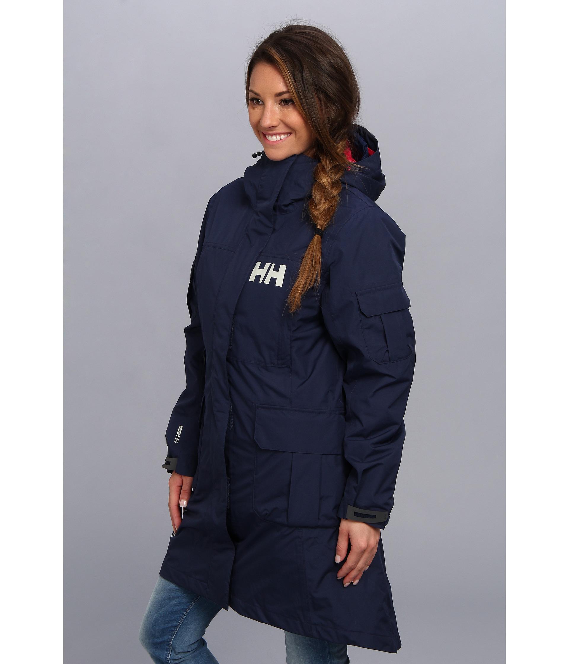 Lyst Helly Hansen Hydropower Rigging Coat In Blue