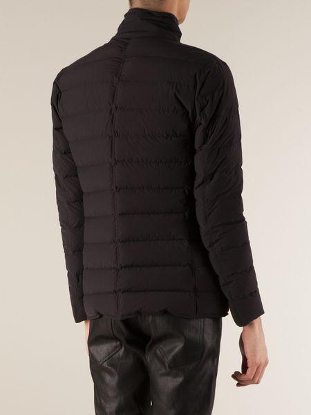 Moncler Deydier Padded Jacket In Black For Men Lyst