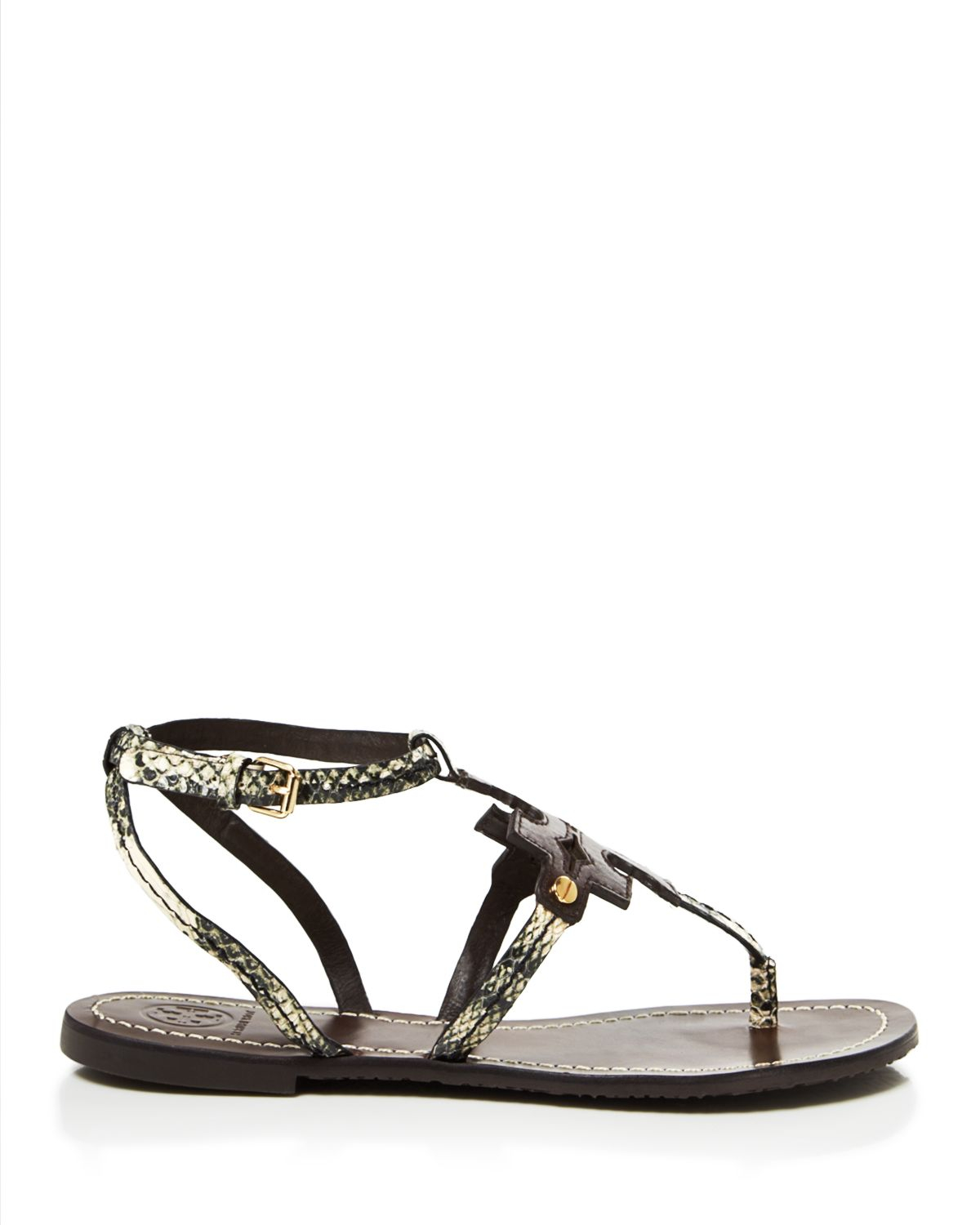 Gallery. Previously sold at: Bloomingdale's · Women's Thong Sandals - Tory Burch Flat Thong Sandals - Chandler In Black Lyst