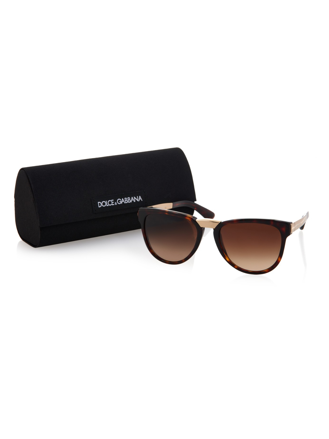 Dolce   gabbana Tortoiseshell And Metal Sunglasses in ... Sunglasses  Dolce Gabbana DG 4274 ... 7600b49d68c9