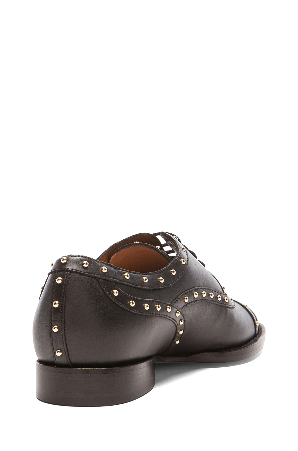 valentino dotcom lace up dress shoes in black black