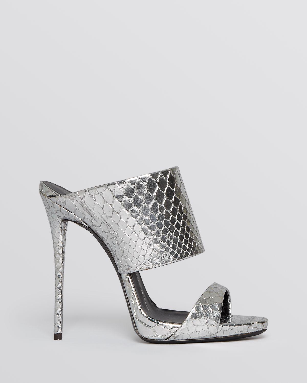 Giuseppe Zanotti Slide Mule Evening Platform Sandals