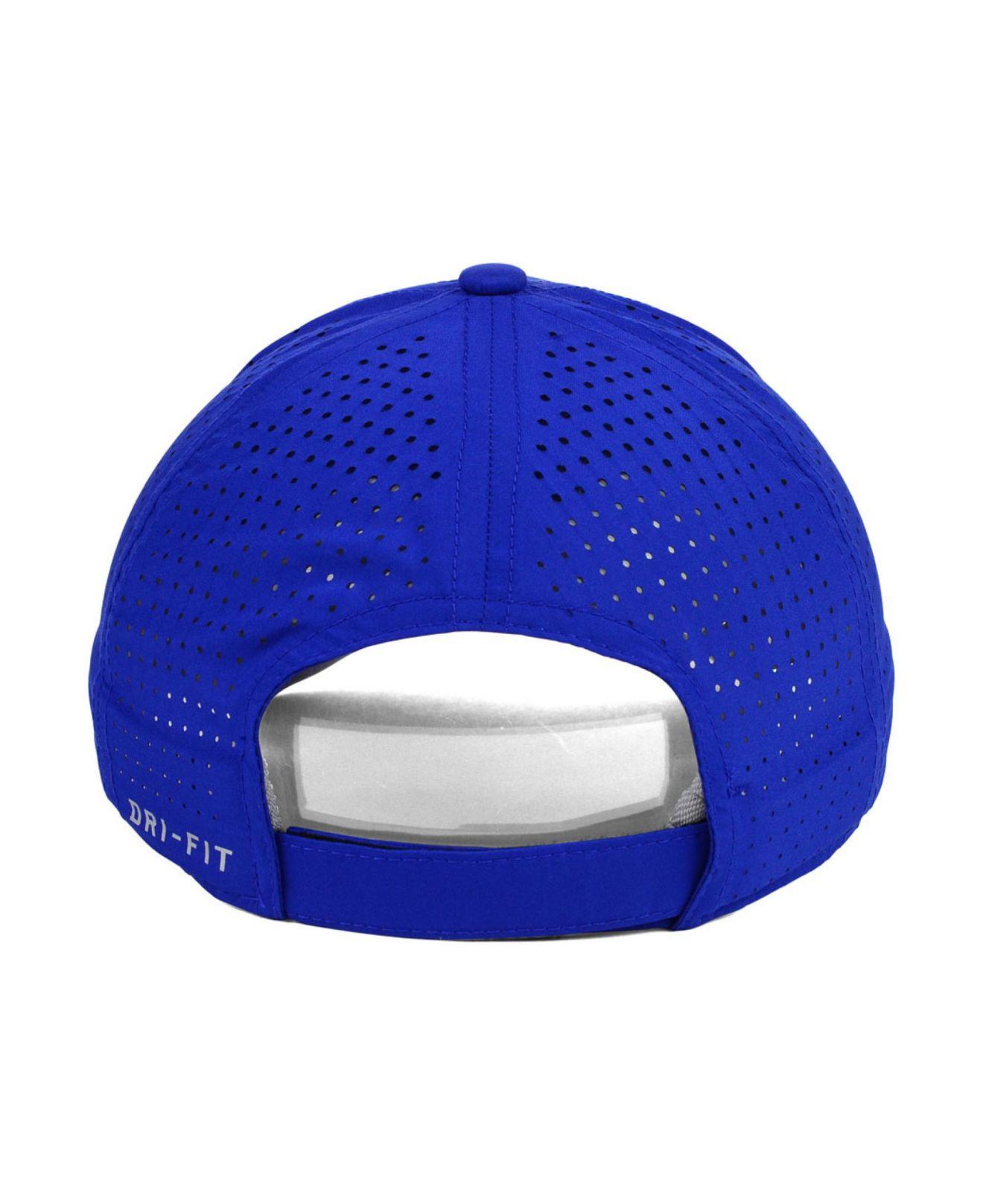 62021f18 ... australia lyst nike toronto blue jays featherlite cap in blue for men  3f59b ee2de