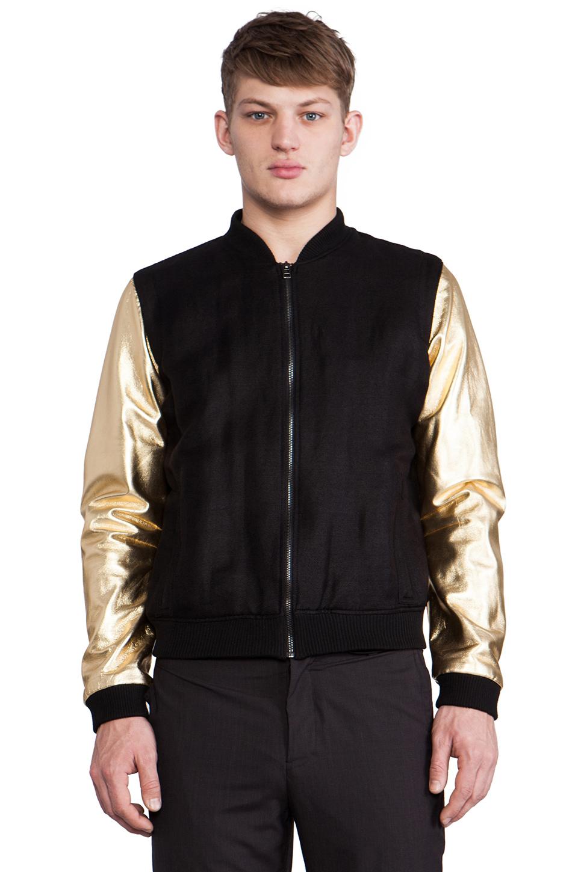 Chapter Maro Bomber Jacket In Black For Men | Lyst