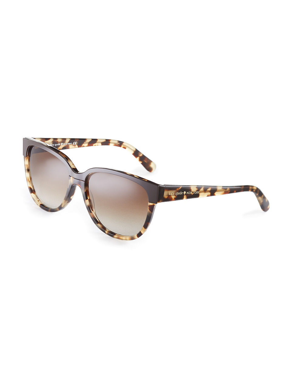 Kate Spade Tortoise Shell Glasses Frames : Kate spade Tortoise Shell Sunglasses in Brown (Camel Tort ...