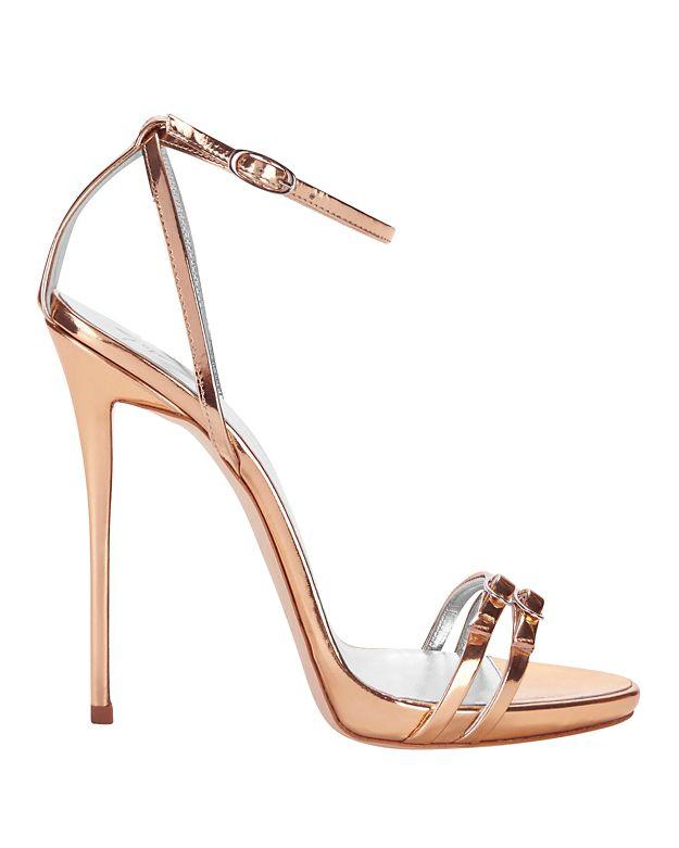 embellished strap sandals - Metallic Giuseppe Zanotti HA8ehXONDu
