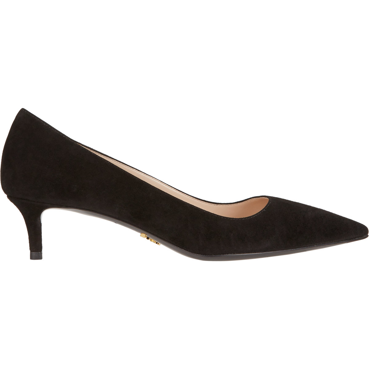 Kitten Heel Black Suede Shoes - The Cutest Kittens