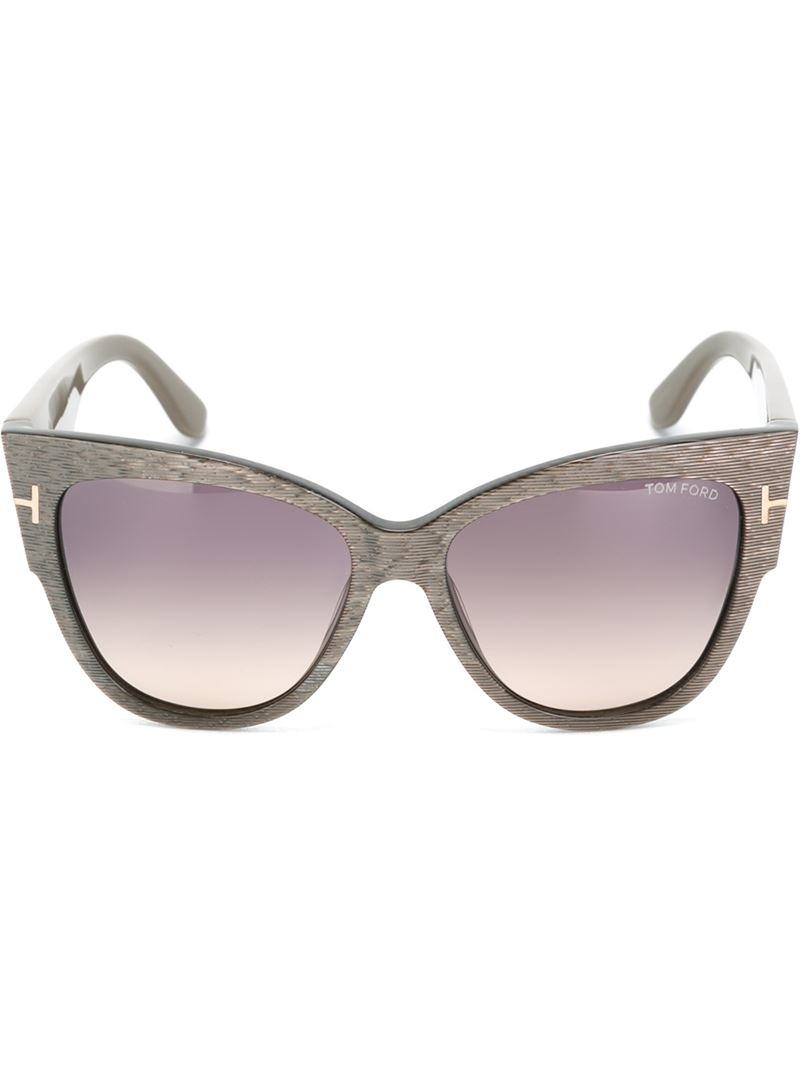 a480494f46f Lyst - Tom Ford  anoushka  Sunglasses in Gray