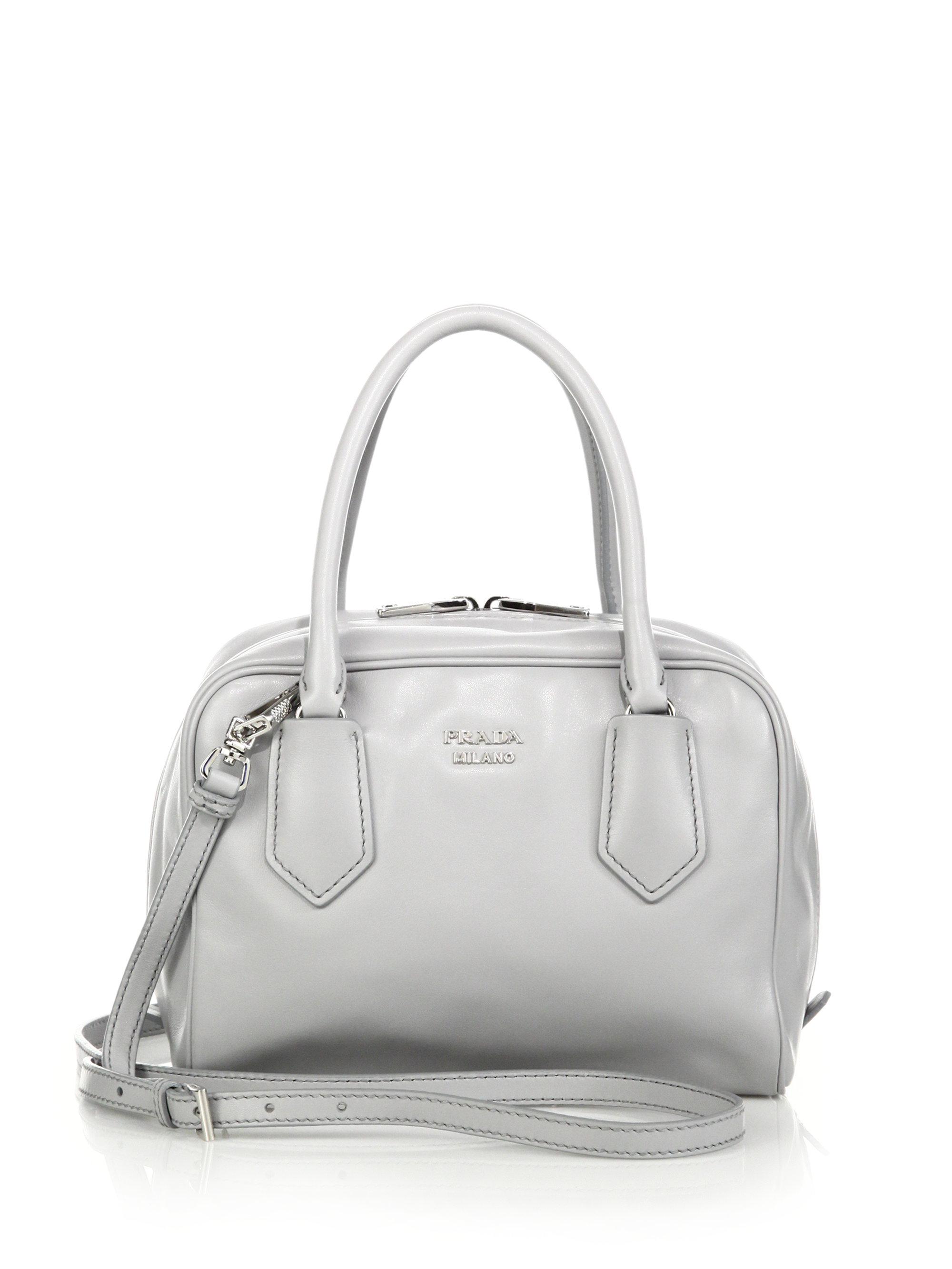 Prada small bag white/black