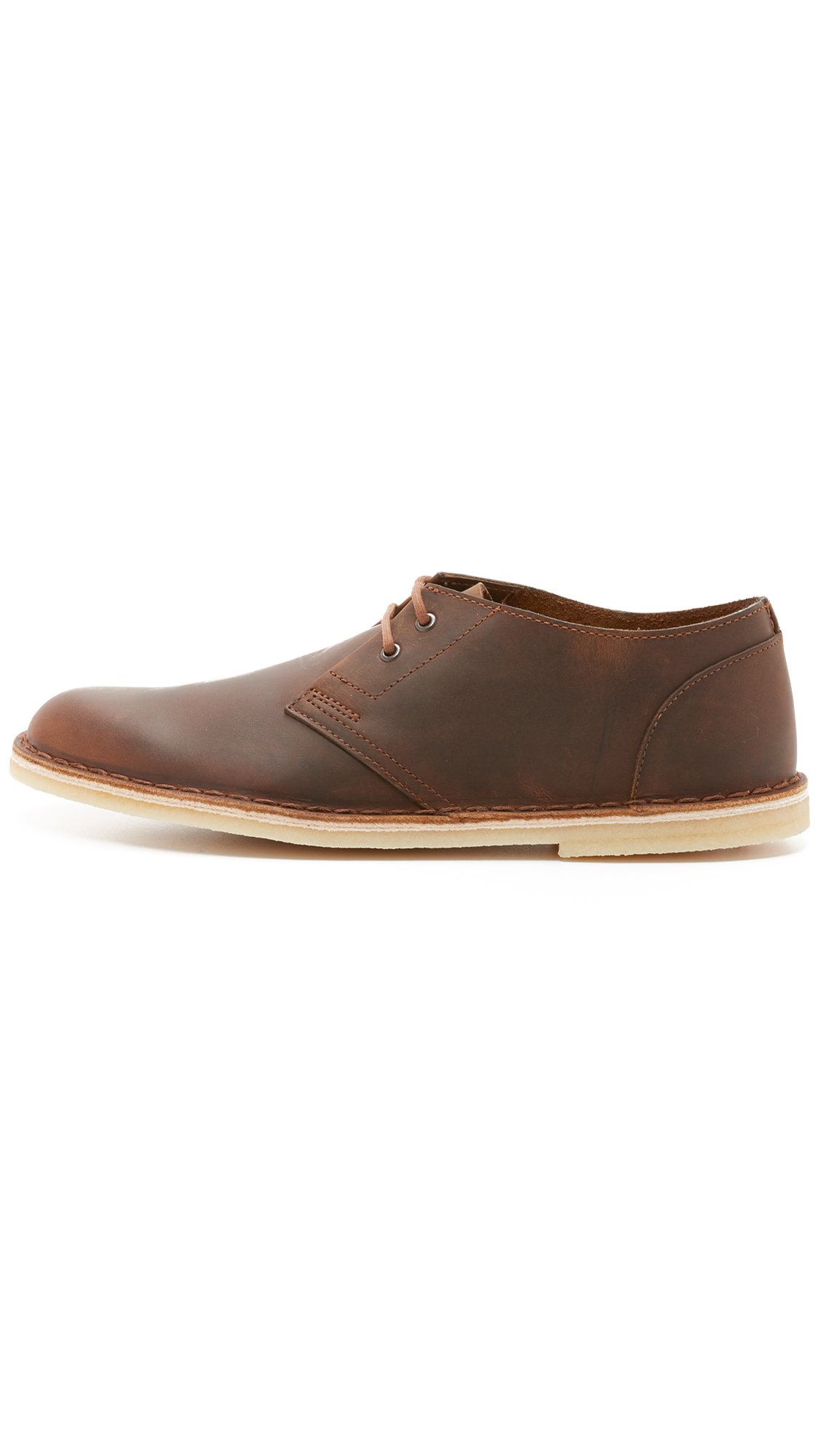 clarks leather jink shoes in brown for lyst
