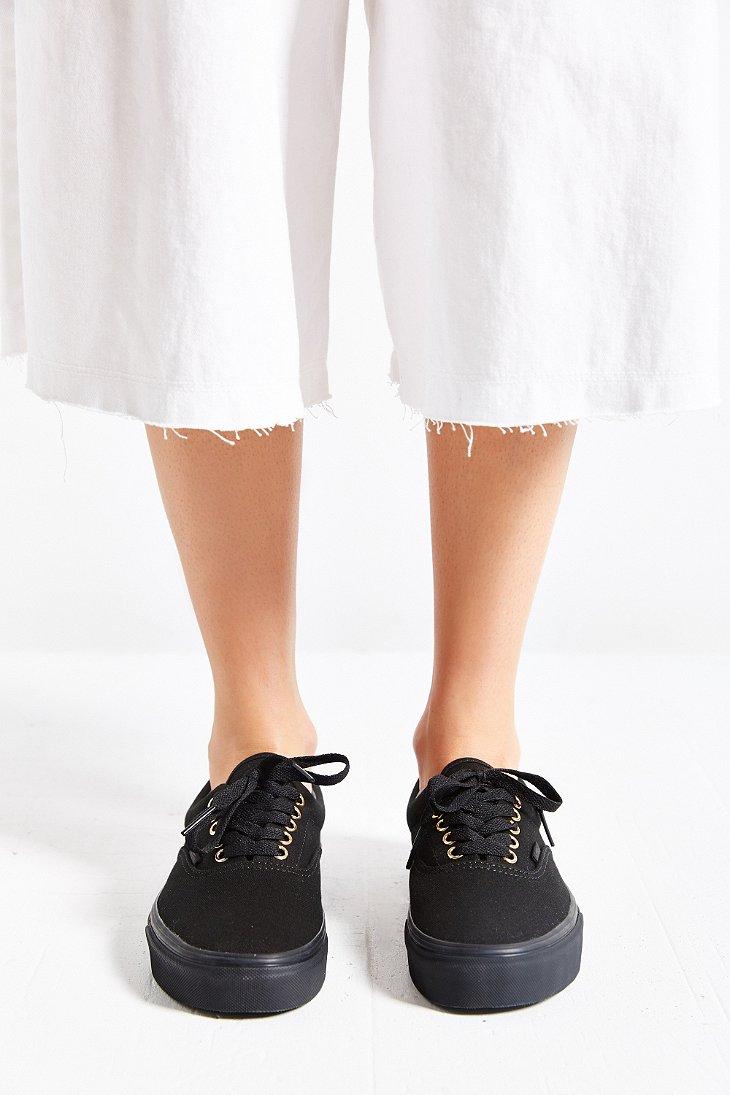 fed27b33ba Lyst - Vans Era Gold Mono Sneaker in Black
