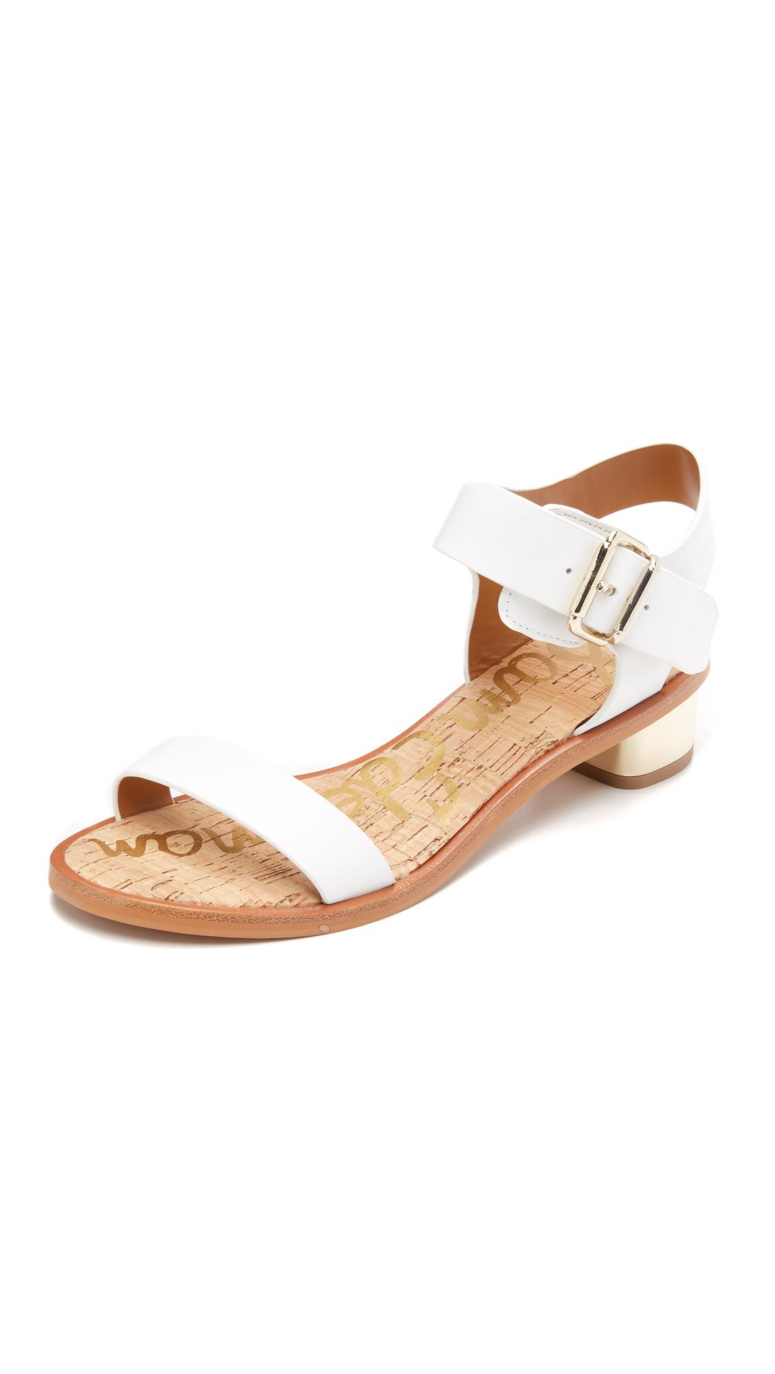 05a7fa055 Lyst - Sam Edelman Trina City Sandals in White