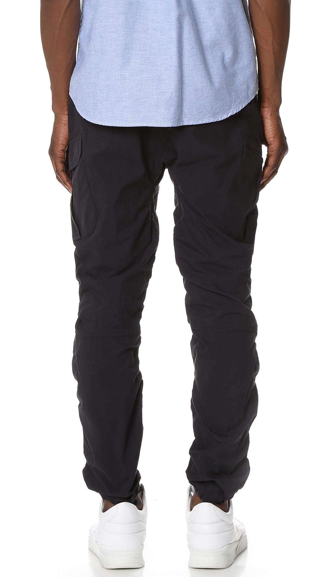 Cotton Nylon Cargo Pants 12