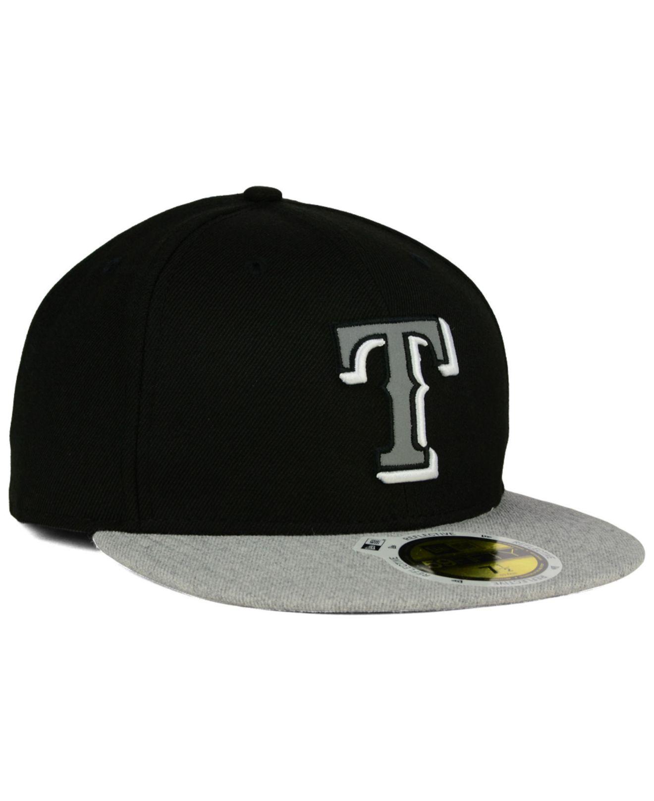 separation shoes 7b6a6 60632 ebay lyst ktz texas rangers night reflective 59fifty cap in black for men  7d56e 98fff